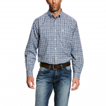 Men's Davis LS Stretch Perf Shirt by Ariat in Lafayette CO