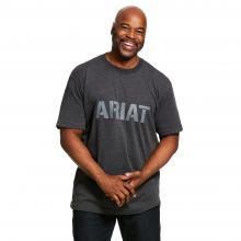 Men's Rebar Cotton Strong Block T-Shirt