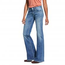 Women's Trouser Perfect Rise Stretch Ella Wide Leg Jean by Ariat in Chelan WA