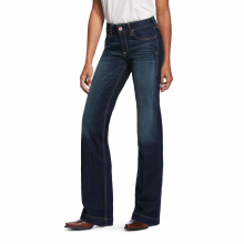Women's Trouser Perfect Rise Stretch Billie Wide Leg Jean by Ariat in Fort Collins CO