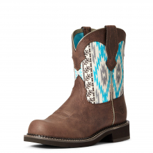 Women's Fatbaby Heritage Twill Western Boot by Ariat in Omak WA