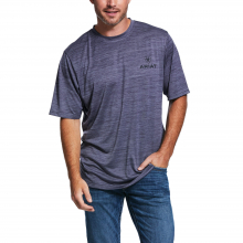 Charger Vertical Flag T-Shirt by Ariat
