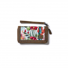 Women's Clutch Wallet Cactus Floral by Ariat