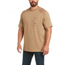 Men's Rebar Cotton Strong T-Shirt by Ariat in Loveland CO