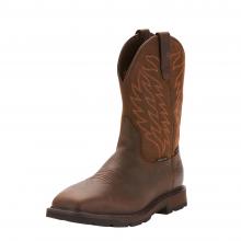Men's Groundbreaker Wide Square Toe Waterproof Steel Toe Work Boot by Ariat