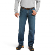 Men's Rebar M3 Loose DuraStretch Basic Stackable Straight Leg Jean by Ariat in Lafayette CO