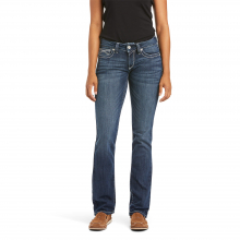 Women's R.E.A.L. Mid Rise Stretch Ivy Stackable Straight Leg Jean by Ariat in Loveland CO