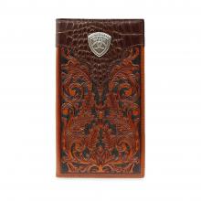 Men's Baldwin Tooled Rodeo Wallet by Ariat