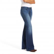 Women's Trouser Mid Rise Stretch Kelsea Wide Leg Jean by Ariat in Chelan WA