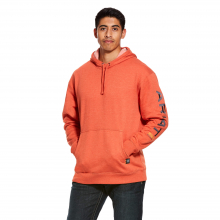 Men's Rebar Graphic Hoodie by Ariat in Lafayette CO
