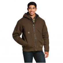 Men's Rebar Washed DuraCanvas Insulated Jacket by Ariat
