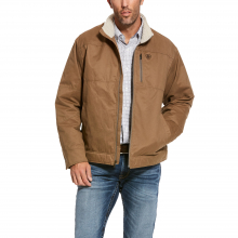 Men's Grizzly Canvas Jacket by Ariat