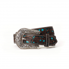 Women's Floral Overlay Belt by Ariat