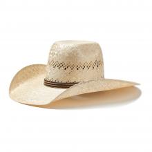 Sisal Puchy Straw Cowboy Hat by Ariat in Omak WA
