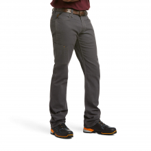 Men's Rebar M4 Low Rise DuraStretch Made Tough Stackable Straight Leg Pant by Ariat in Loveland CO