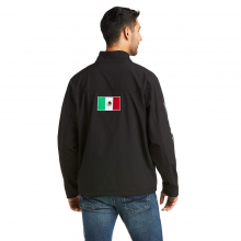 Men's New Team Softshell MEXICO Water Resistant Jacket by Ariat in Squamish BC