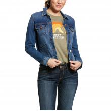 Women's Level Denim Jacket by Ariat