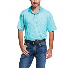 Men's Micro Stripe TEK Polo by Ariat