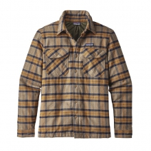 Men's Insulated Fjord Flannel Jacket by Patagonia in Corvallis Or