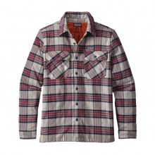 Men's Insulated Fjord Flannel Jacket by Patagonia in Durango Co