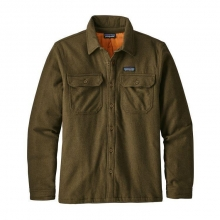 Men's Insulated Fjord Flannel Jacket by Patagonia in Anchorage Ak