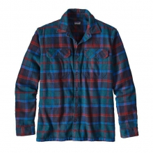 Men's L/S Fjord Flannel Shirt by Patagonia in Boulder Co