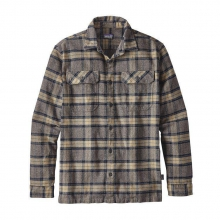Men's L/S Fjord Flannel Shirt by Patagonia in Ponderay Id