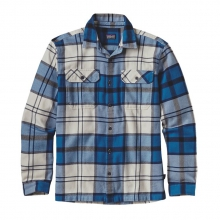 Men's L/S Fjord Flannel Shirt by Patagonia in Troy Oh