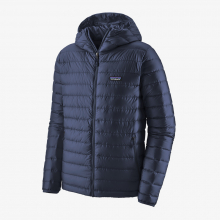 Men's Down Sweater Hoody by Patagonia in Squamish BC