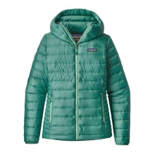 Women's Down Sweater Hoody by Patagonia in Sioux Falls SD