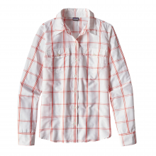 Women's L/S Overcast Shirt by Patagonia in Ames Ia