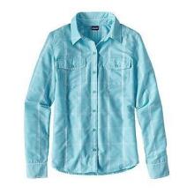 Women's L/S Overcast Shirt by Patagonia in Logan Ut