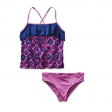 Girls' Wavy Day Tankini