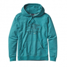 Men's Geodesic Flying Fish LW P/O Hooded Sweatshirt by Patagonia