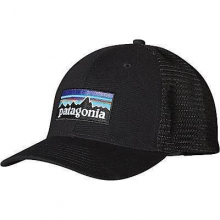 P-6 Logo LoPro Trucker Hat by Patagonia in Golden Co