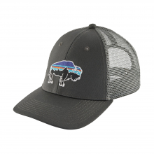 Fitz Roy Bison LoPro Trucker Hat by Patagonia in Chelan WA