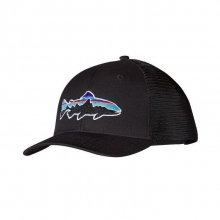 Fitz Roy Trout Trucker Hat by Patagonia in Golden Co