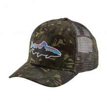 Fitz Roy Trout Trucker Hat by Patagonia in Kalamazoo Mi