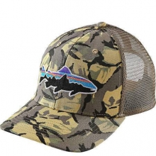 Fitz Roy Trout Trucker Hat by Patagonia in Meridian Id