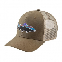 Fitz Roy Trout Trucker Hat by Patagonia in Colorado Springs Co