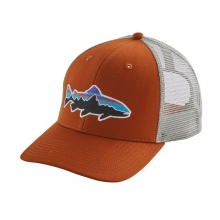 Fitz Roy Trout Trucker Hat by Patagonia in Bentonville Ar