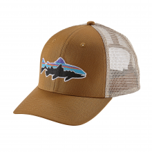 Fitz Roy Trout Trucker Hat by Patagonia in Bend Or