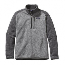 Men's Better Sweater 1/4 Zip by Patagonia in Red Deer Ab