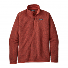Men's Better Sweater 1/4 Zip by Patagonia in Squamish Bc