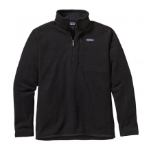 Men's Better Sweater 1/4 Zip by Patagonia in Edwards Co