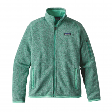 Women's Better Sweater Jacket by Patagonia in Seward Ak