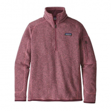 Women's Better Sweater 1/4 Zip by Patagonia in Bentonville AR