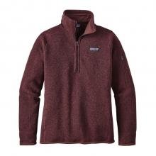 Women's Better Sweater 1/4 Zip by Patagonia in Missoula Mt