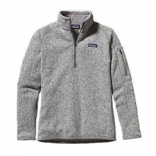 Women's Better Sweater 1/4 Zip by Patagonia in Madison Al