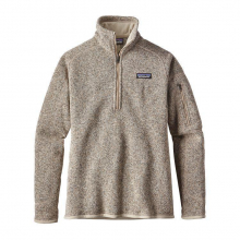 Women's Better Sweater 1/4 Zip by Patagonia in Squamish Bc